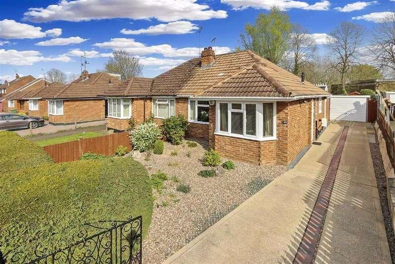 2 Bedrooms Semi Detached Bungalow for sale in Drayton Road, Bletchley, Milton Keynes, Bucks
