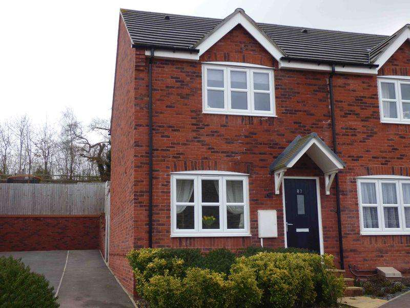 2 Bedrooms Semi Detached House for sale in Sneyd Wood Road, Cinderford