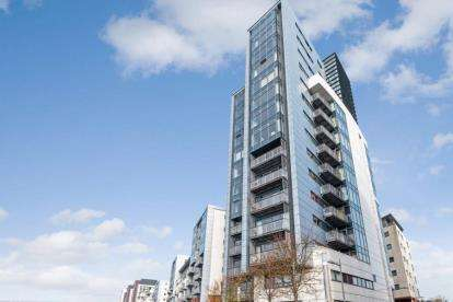 2 Bedrooms Flat for sale in Castlebank Drive, Glasgow Harbour, Glasgow
