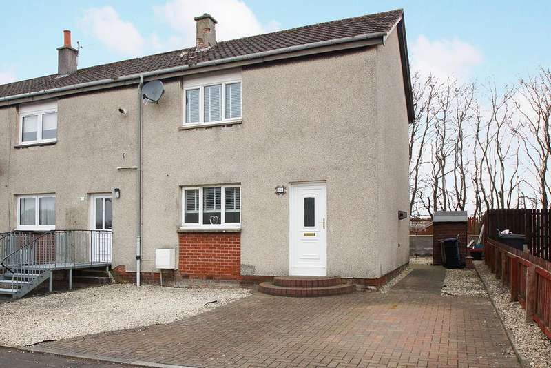 2 Bedrooms End Of Terrace House for sale in Mauchline KA5