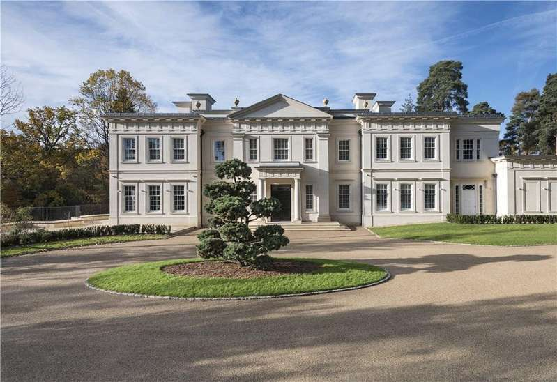 6 Bedrooms Detached House for sale in Pinewood Road, Wentworth, Virginia Water, Surrey, GU25