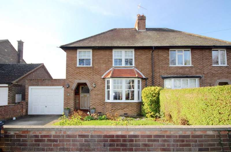 3 Bedrooms Semi Detached House for sale in Westfield Road, Henlow, SG16