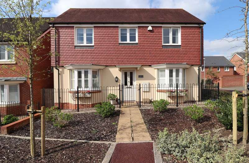 4 Bedrooms Detached House for sale in Spoonbill Rise, Jennett`s Park
