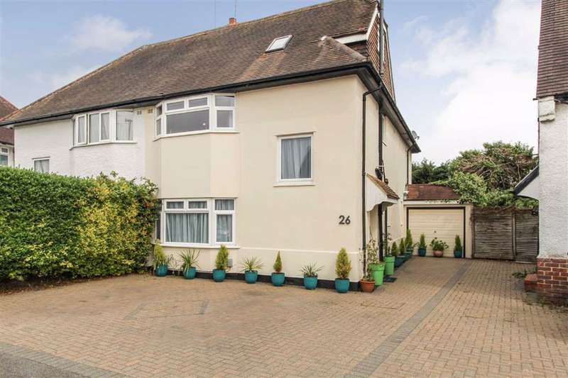 5 Bedrooms Semi Detached House for sale in St Georges Crescent, Cippenham