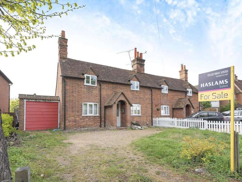 3 Bedrooms Semi Detached House for sale in Church Road, Woodley, RG5