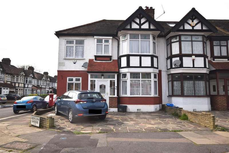4 Bedrooms End Of Terrace House for sale in Abercorn Gardens, Chadwell Heath, Romford