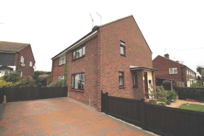2 Bedrooms Semi Detached House for sale in Orton Close, Margaretting