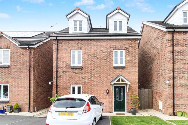 4 Bedrooms Town House for sale in Sol Invictus Place, Caerleon, Newport, NP18