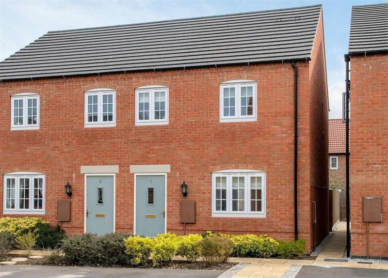 3 Bedrooms Semi Detached House for sale in George Avenue, Ibstock