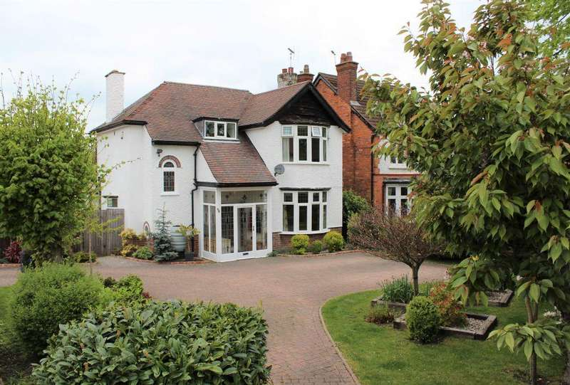 3 Bedrooms Detached House for sale in Ilkeston Road , Heanor , Derbyshire, DE75 7DT