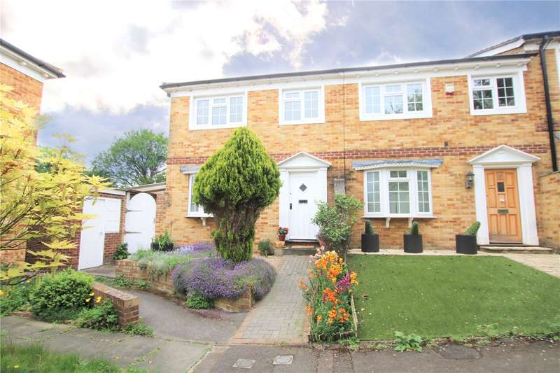 3 Bedrooms End Of Terrace House for sale in Somerstown Court, Tilehurst Road, Reading, Berkshire, RG1