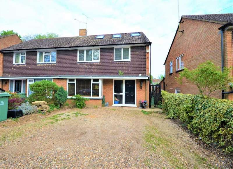 4 Bedrooms Semi Detached House for sale in Hambro Close, East Hyde