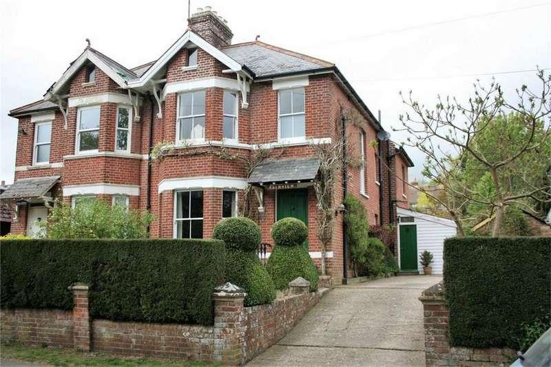 4 Bedrooms Semi Detached House for sale in Brightling Road, ROBERTSBRIDGE, East Sussex