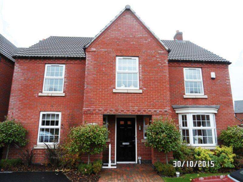 4 Bedrooms Detached House for rent in Southwold Close, Market Harborough