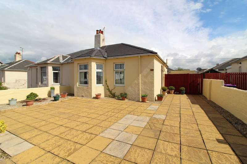 2 Bedrooms Semi Detached Bungalow for sale in Hunters Avenue, Ayr, KA8