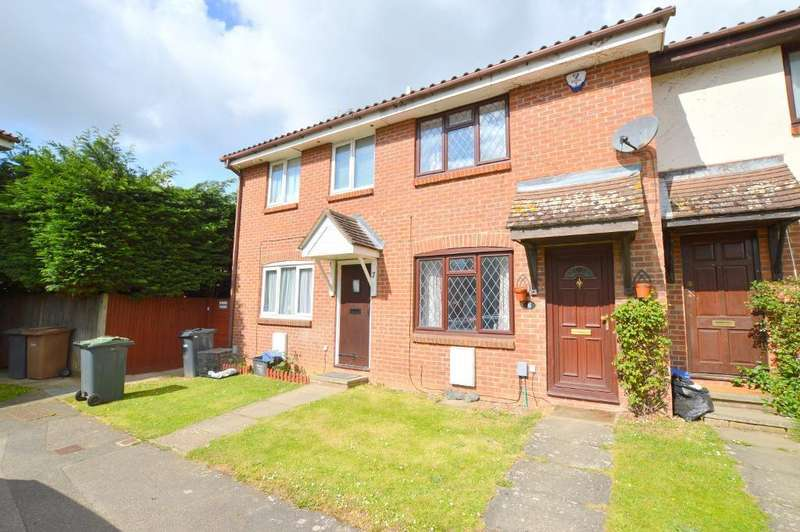 2 Bedrooms Terraced House for sale in Pytchley Close, Bushmead, Luton, Bedfordshire, LU2 7YS