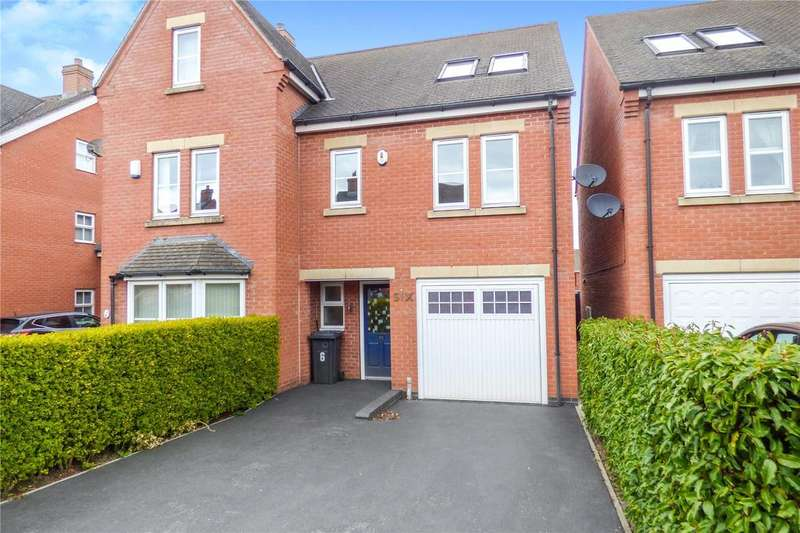 4 Bedrooms End Of Terrace House for sale in Bird Close, Earl Shilton, Leicester, Leicestershire, LE9