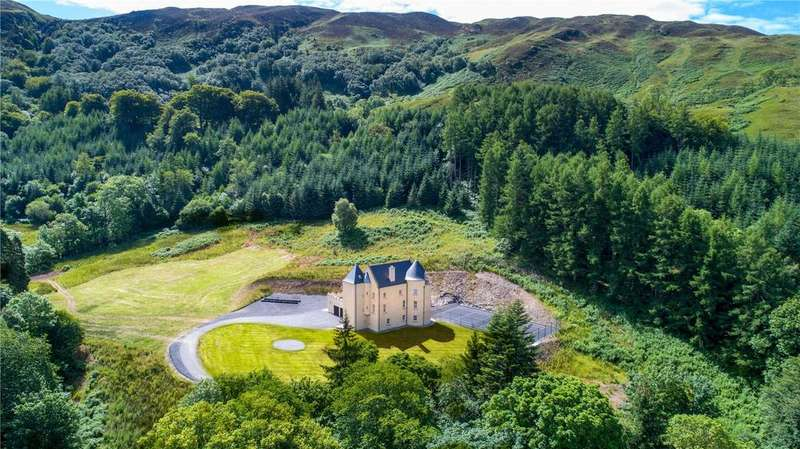 5 Bedrooms Unique Property for sale in The Tower House Lot 1, Glenmore, Kilmelford, Oban, PA34