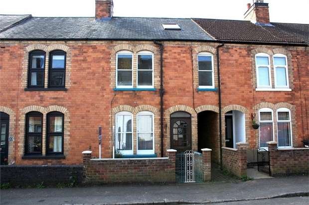 4 Bedrooms Terraced House for sale in Gladstone Street, Market Harborough, Leicestershire