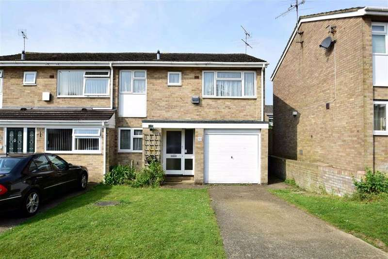 3 Bedrooms Semi Detached House for sale in Odiham Avenue, Caversham, Reading