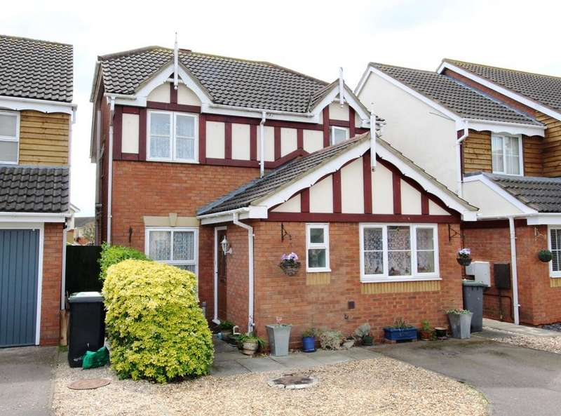 3 Bedrooms Detached House for sale in Brambling Close, Sandy SG19