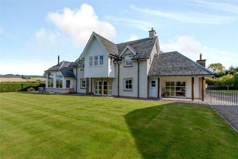 4 Bedrooms Detached House for sale in Forteviot, Perthshire