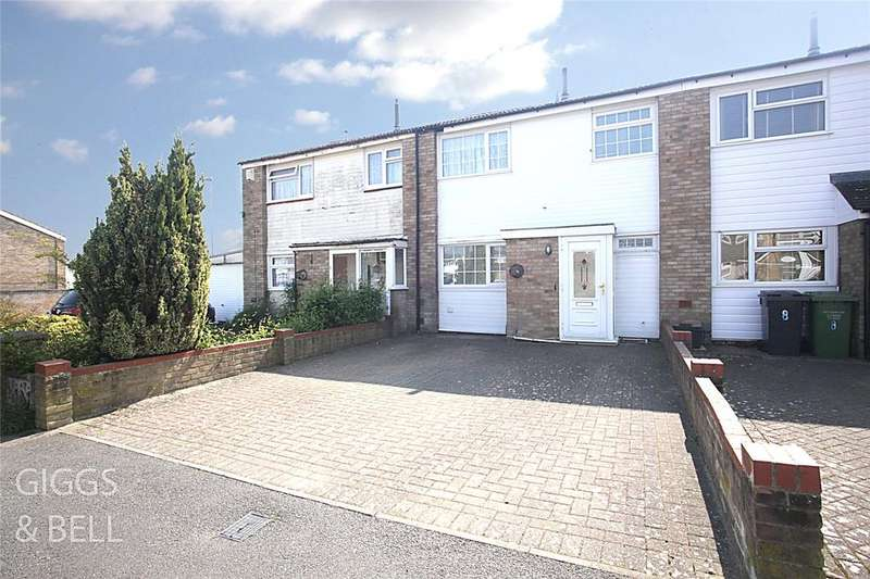3 Bedrooms Terraced House for sale in Strawberry Field, Luton, Bedfordshire, LU3