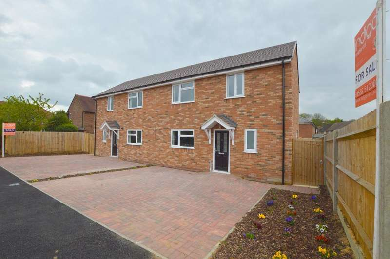 3 Bedrooms Semi Detached House for sale in Barnard Road, Farley Hill, Luton, Bedfordshire, LU1 5RS