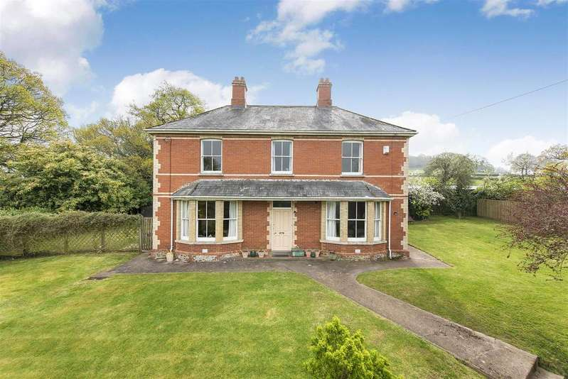 5 Bedrooms Detached House for sale in Culmstock About 2.5 Acres