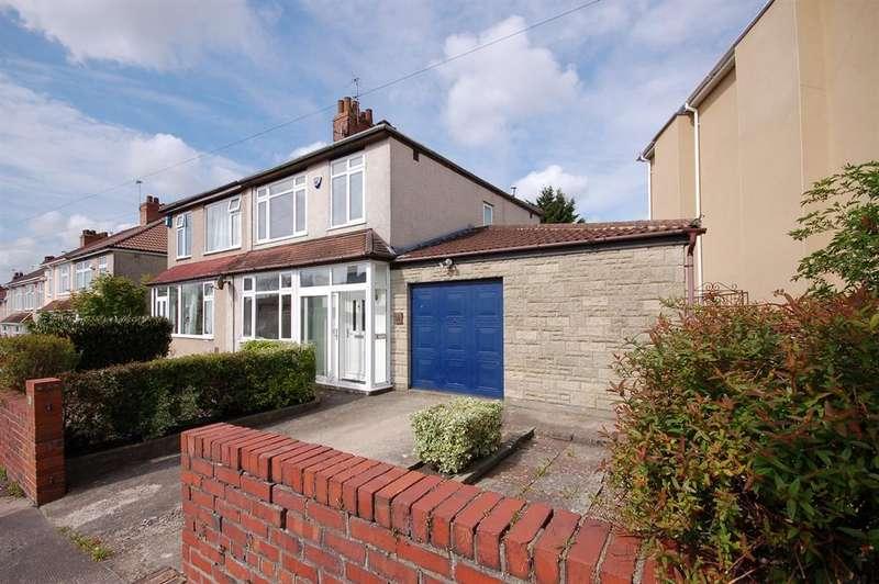 3 Bedrooms Semi Detached House for sale in Kennard Rise, Kingswood, Bristol, BS15 8AF
