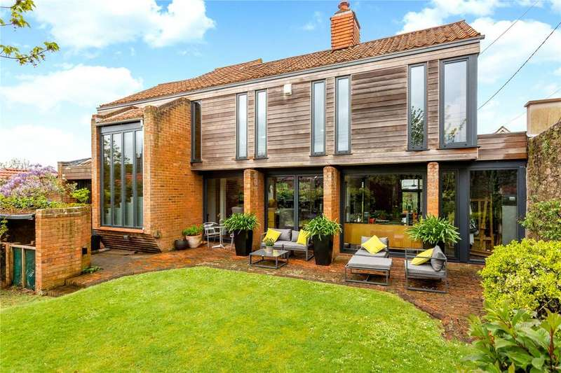 4 Bedrooms Detached House for sale in Church Road, Abbots Leigh, Bristol, BS8