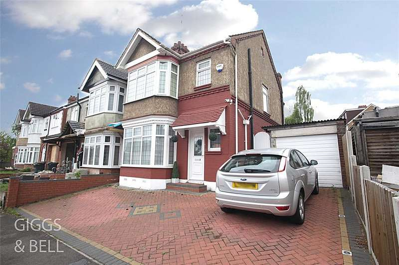 3 Bedrooms Semi Detached House for sale in Carlton Crescent, Luton, Bedfordshire, LU3
