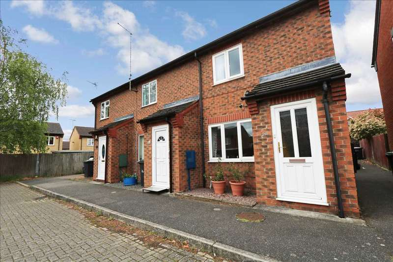 2 Bedrooms End Of Terrace House for sale in Hunters Drive, Metheringham, Lincoln