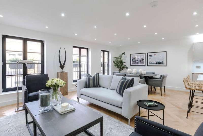 3 Bedrooms Terraced House for sale in Chippenham Mews, Maida Vale, London, W9