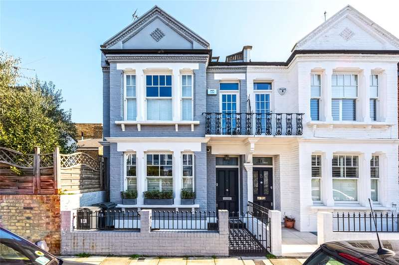 5 Bedrooms End Of Terrace House for sale in Eddiscombe Road, Parsons Green, Fulham, London, SW6