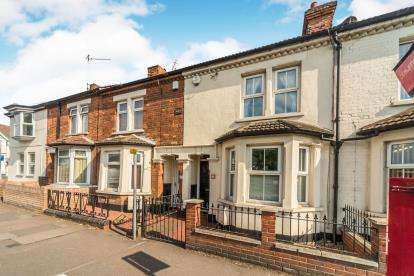 3 Bedrooms Terraced House for sale in Elstow Road, Bedford, Bedfordshire, .