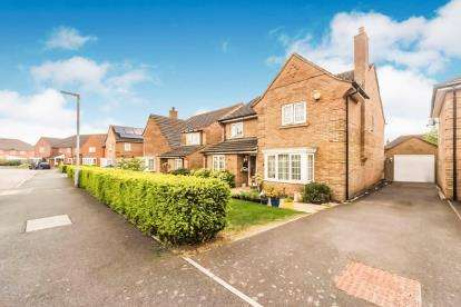 4 Bedrooms Detached House for sale in Victor Close, Shortstown, Bedford, Bedfordshire