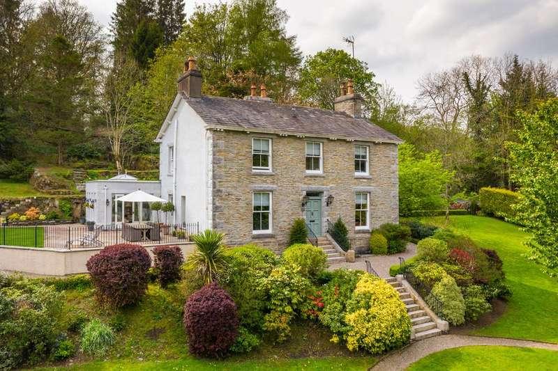 4 Bedrooms Detached House for sale in Highfield House,Crook, Kendal, Cumbria, LA8 8LB