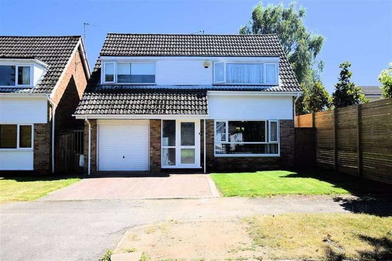 4 Bedrooms Detached House for sale in Silverthorne Drive, Caversham Heights, Reading