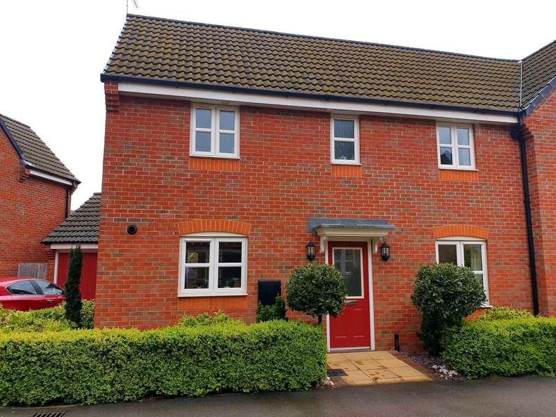 3 Bedrooms Semi Detached House for sale in Octavian Crescent, North Hykeham