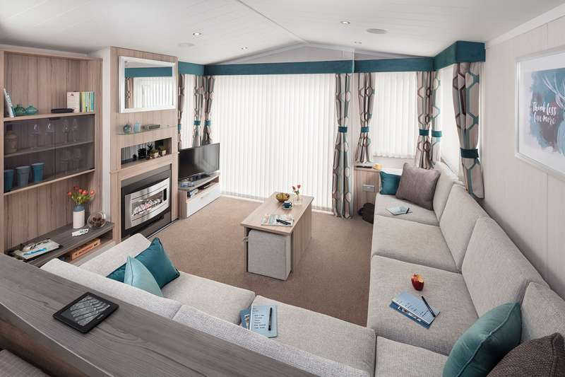 3 Bedrooms Caravan Mobile Home for sale in Eryl Hall Holiday Park, St Asaph