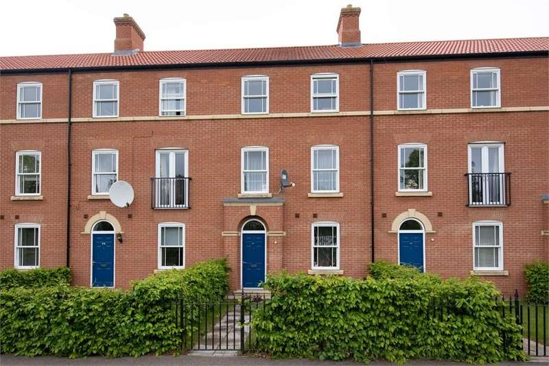 4 Bedrooms Terraced House for sale in Riverside, Boston, Lincolnshire