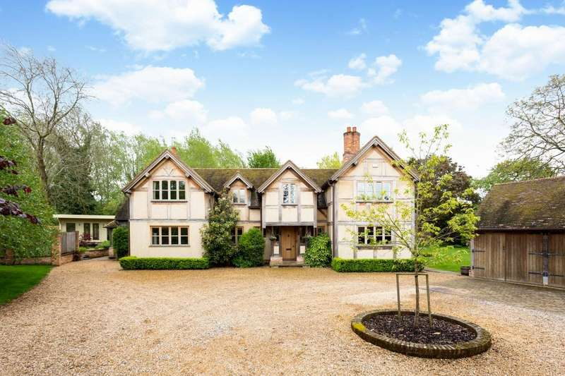 5 Bedrooms Detached House for sale in Charvil Lane, Sonning, Reading, RG4