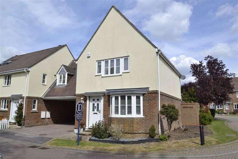5 Bedrooms Link Detached House for sale in Garrett Close, Kingsclere, Berkshire, RG20