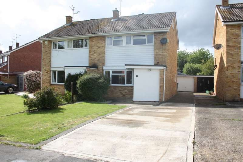 3 Bedrooms Semi Detached House for sale in Renault Road, Woodley, Reading, RG5