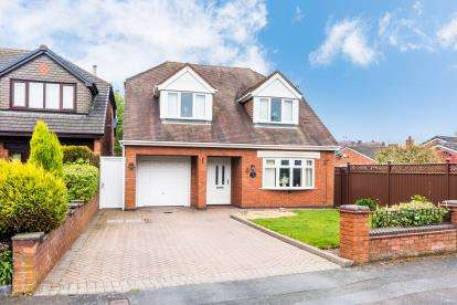 4 Bedrooms Detached House for sale in Woodfield Drive, Norton Canes, Cannock, Staffordshire