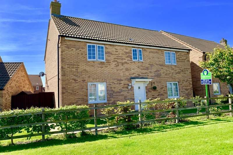 4 Bedrooms Detached House for sale in Juniper Way, Witham St. Hughs, Lincoln, LN6