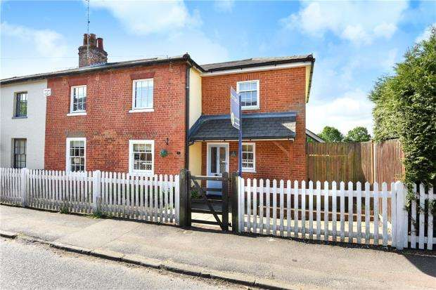 4 Bedrooms Semi Detached House for sale in Aston Cottages, Lovel Road, Winkfield