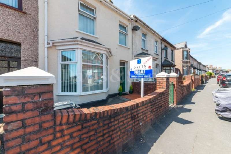 4 Bedrooms Terraced House for sale in Caerleon Road, Newport, Gwent. NP19 7HB