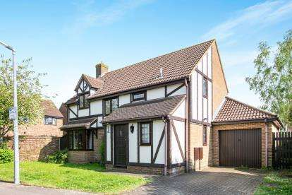 4 Bedrooms Detached House for sale in Bunyan Road, Biggleswade, Bedfordshire, .
